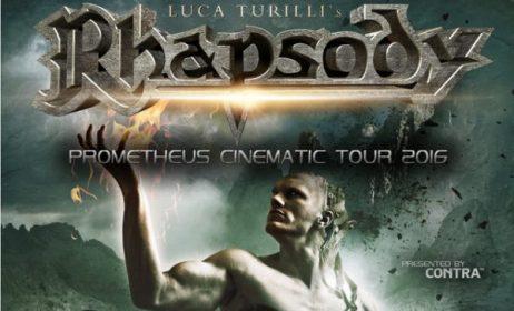 Rhapsody « Luca Turilli's » + Qantice + Temperance, Ninkasi @ Lyon, 16/02/2016