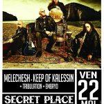 Melechesh + Keep of Kalessin + Tribulation + Embryo, Secret Place @ St Jean de Védas, 22/05/2015