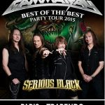 Gamma Ray + Serious Black + NeonFly, Trabendo @ Paris, 05/12/2015
