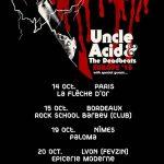 Spiders + Uncle Acide The Deadbeats, Le Paloma @ Nîmes, 19/10/2015