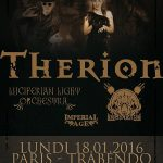 Therion + Luciferian Light Orchestra, Trabendo @ Paris,18/01/2016