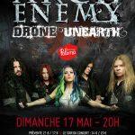 Arch Enemy + Drone + Unearth, Paloma @ Nimes, 17/05/2015