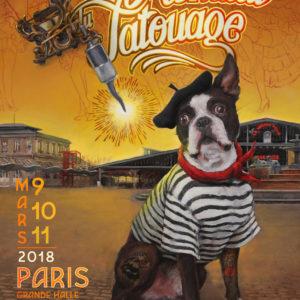 MONDIAL DU TATOUAGE, 8ème éditions, 2018 À LA GRANDE HALLE DE LA VILLETTE