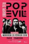 POP EVIL, enfin en concert à Paris !!!!