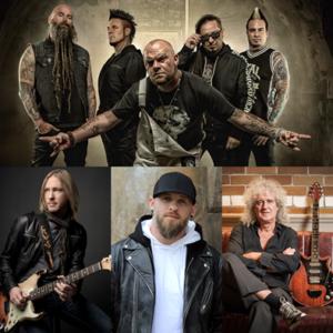 Five Finger Death Punch, Brian May, Kenny Wayne Shepherd & Brantley Gilbert réunis pour une reprise de «Blue on Black» au profit de la Gary Sinise Fou